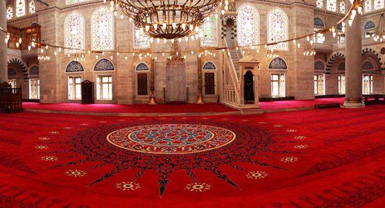 yün göbekli cami halısı