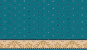 S106_koyu_cini yün cami halısı deseni