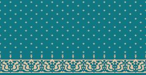 S107_koyu_cini cami halısı deseni