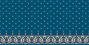 S107_koyu_mavi cami halısı deseni