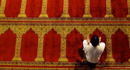 Seccadeli Cami Halısı